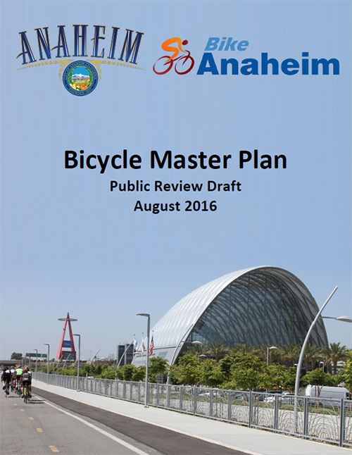 Bicycle Master Plan Cover
