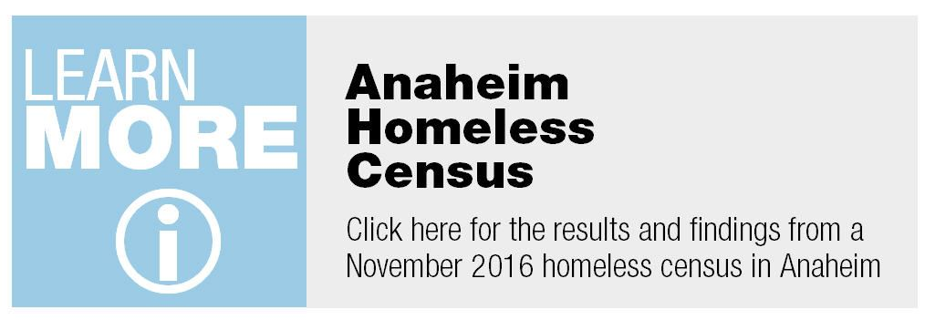 Anaheim homeless census