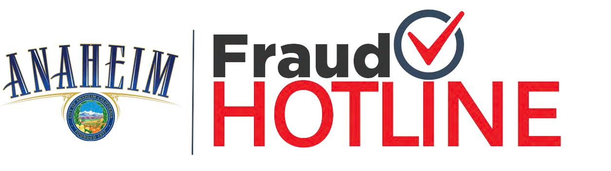 Anaheim Fraud Hotline logo