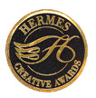 Hermes Creative Awards logo with H in center of circle