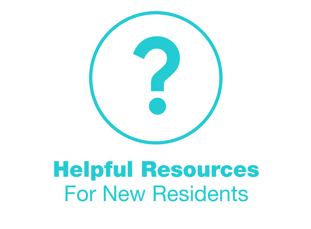 helpful resources for new residents