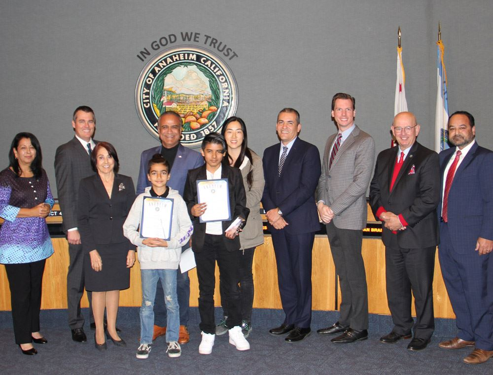 Recognizing the Public Works 2019 Walk to School Day Poster Contest winners