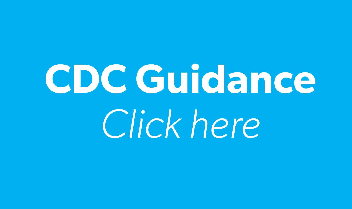 CDC Guidance tile