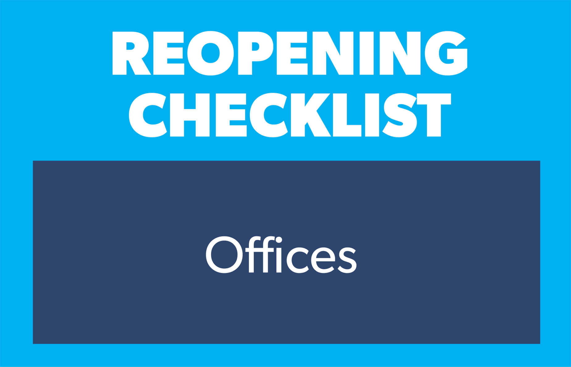 checklist offices