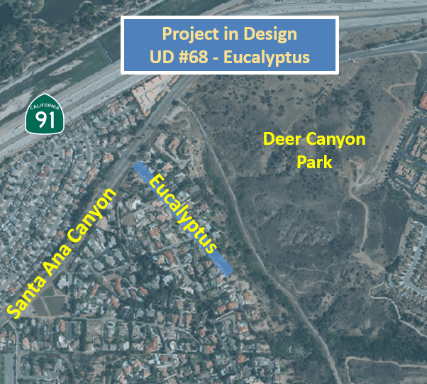 UD 68 - Project Map