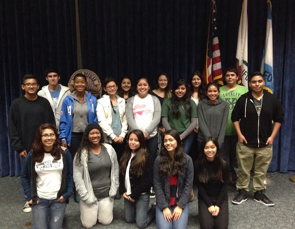 Chief&#39s Youth Advisory Council