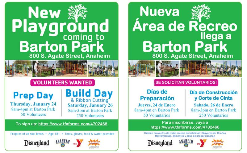 Barton Park Prep Day and Build Day Flyer Opens in new window