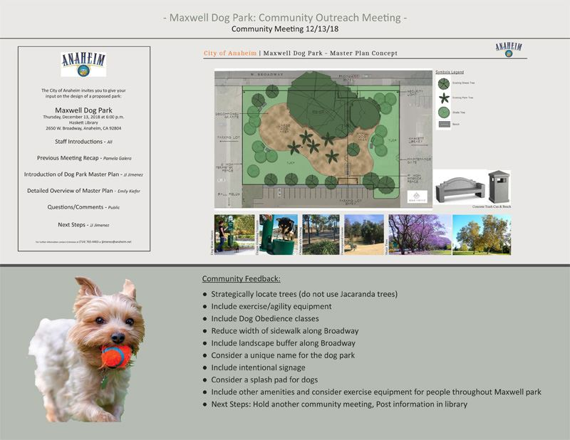 Maxwell Dog Park Opens in new window