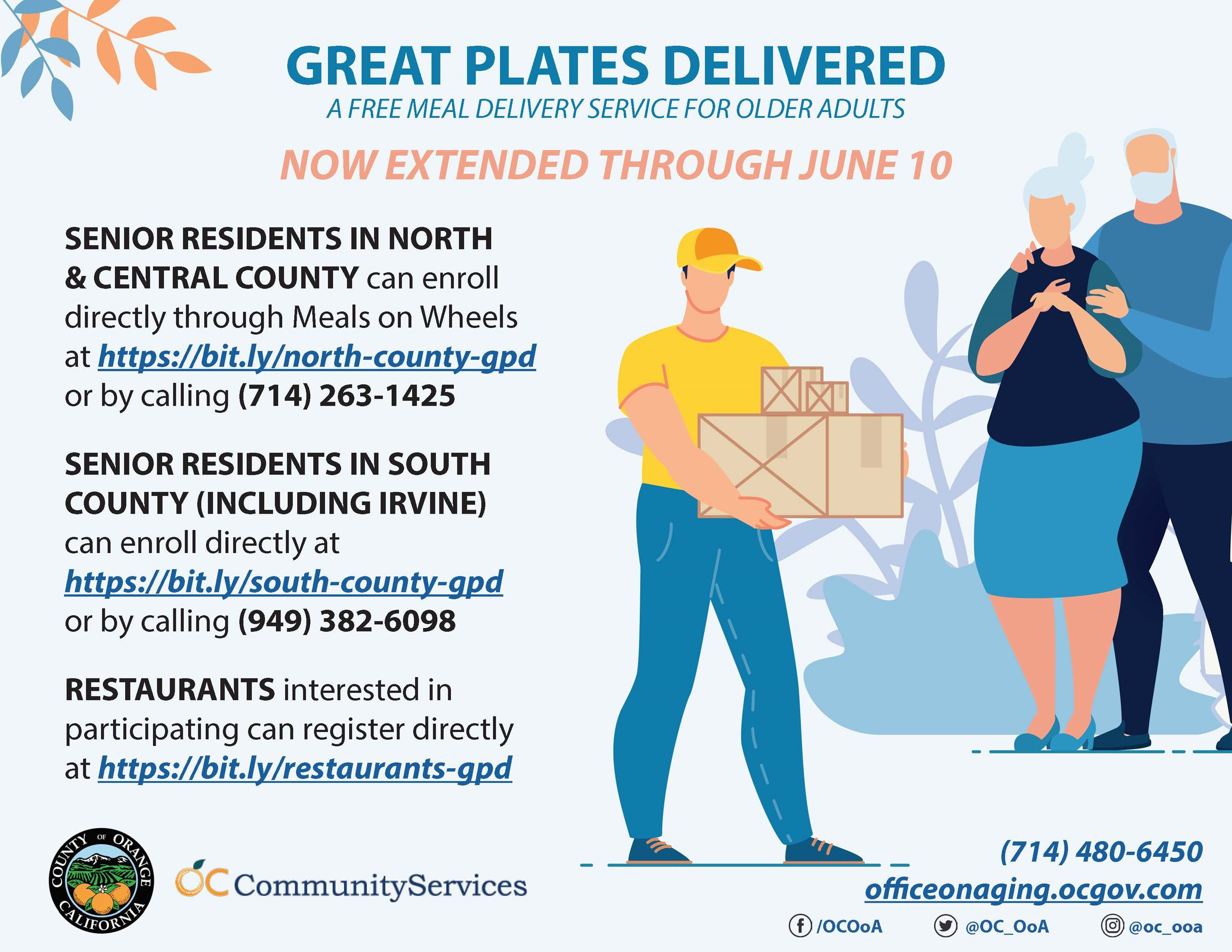 Great plates delivered flyer 5.21.20