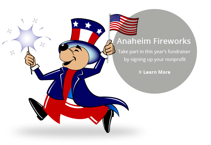 Image of Andy Anaheim for the 4th of July
