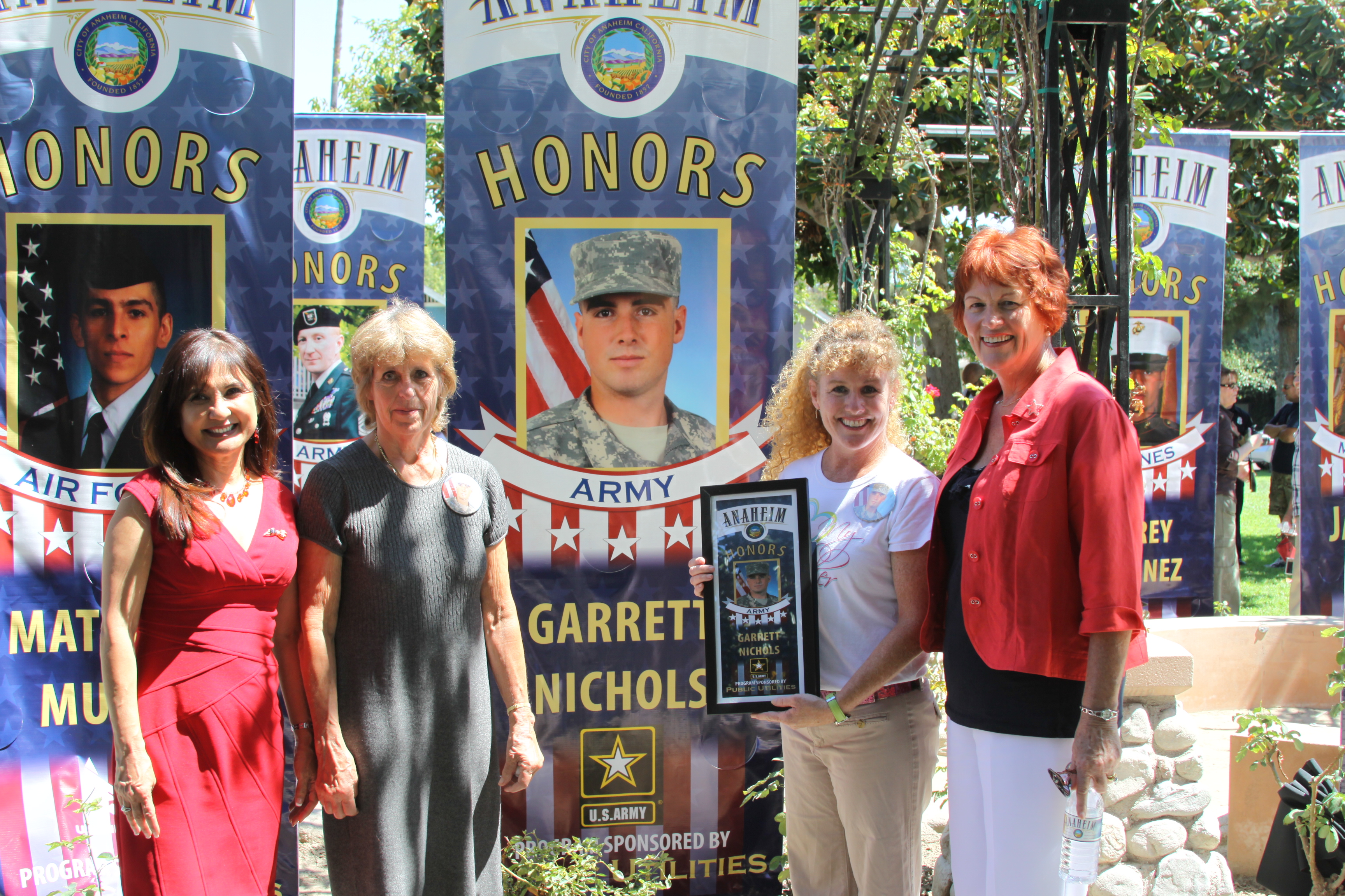 Banner Ceremony - September 8, 2011