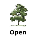 Drawing of open tree type