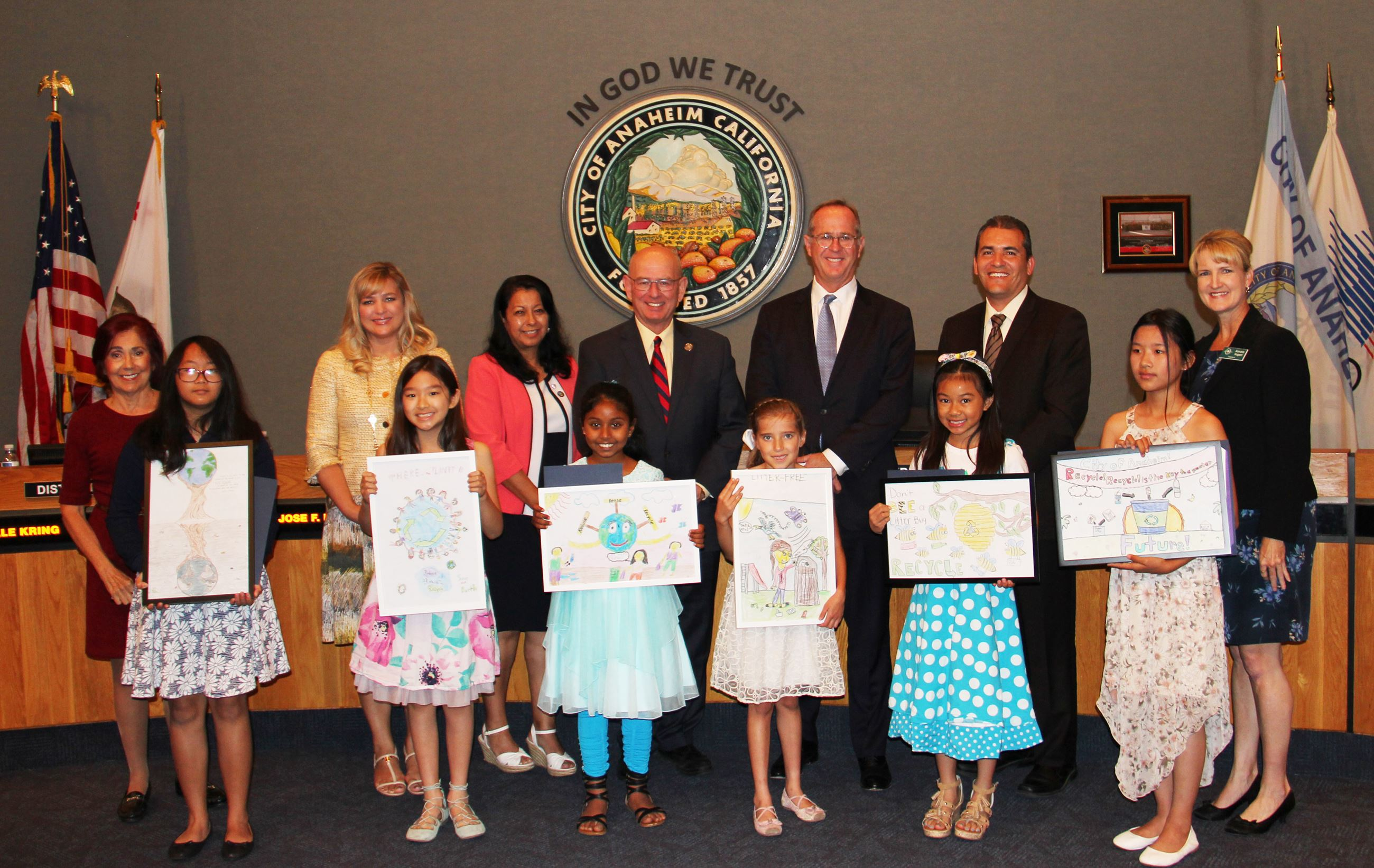 Anaheim Beautiful Community Pride Poster Contest Winners