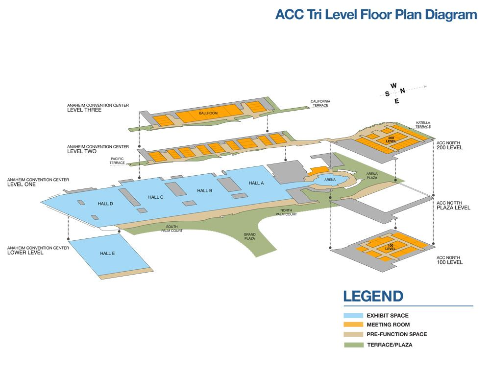 2018 Tri Level Floor Plan Diagram