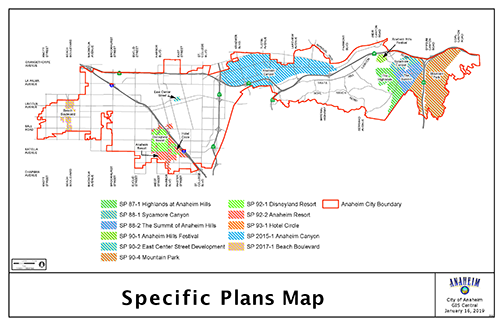 Specific Plans Map 01172019