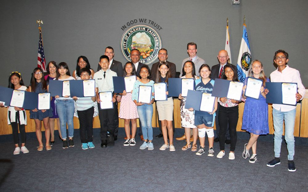 Recognizing the 2019 Flag Day Essay Contest winners