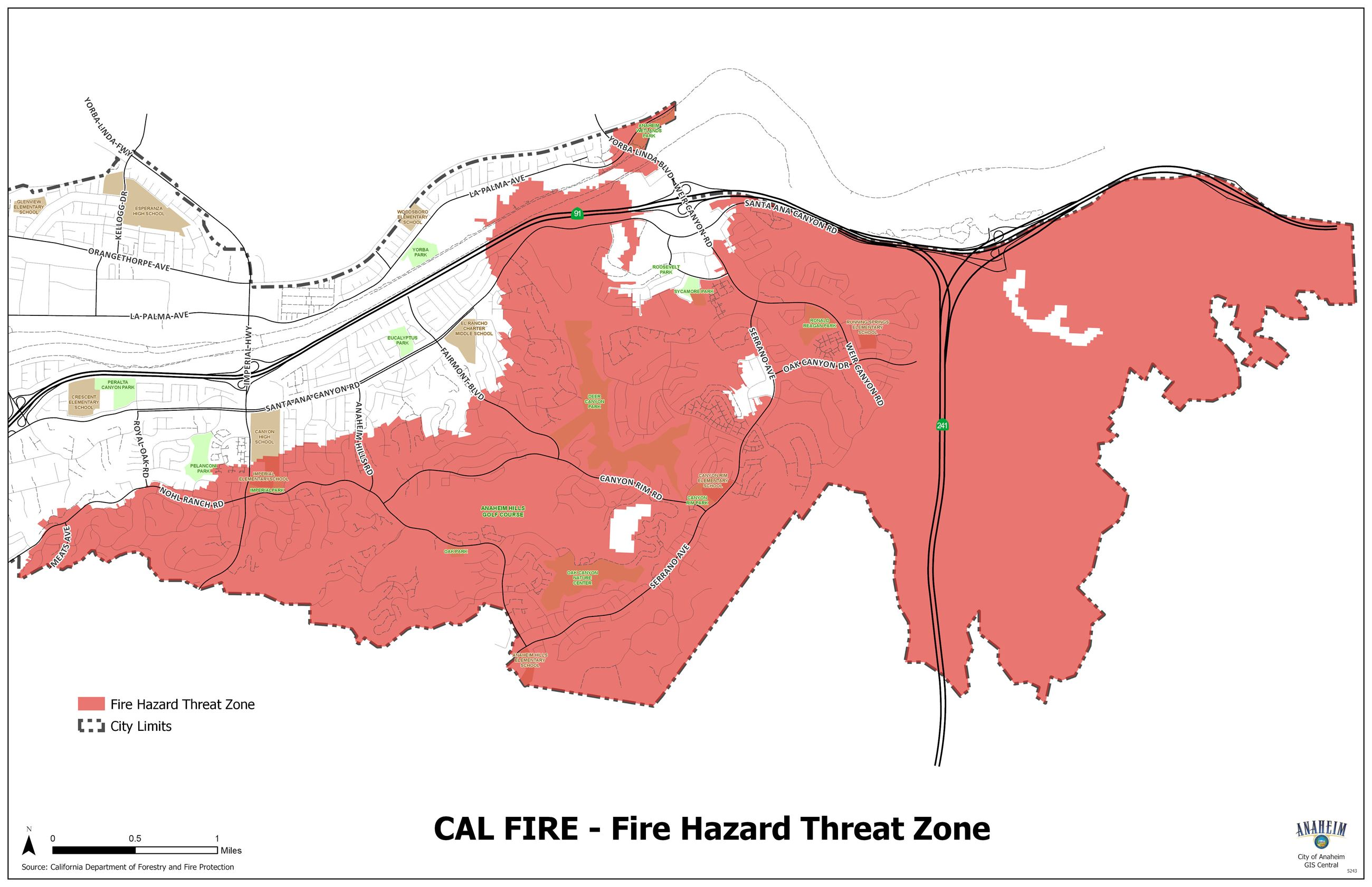 Fire Threat Zones