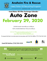 Auto Zone February 2020 Filter Exchange