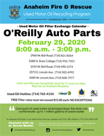 OReilly February 2020 Filter Exchange Event