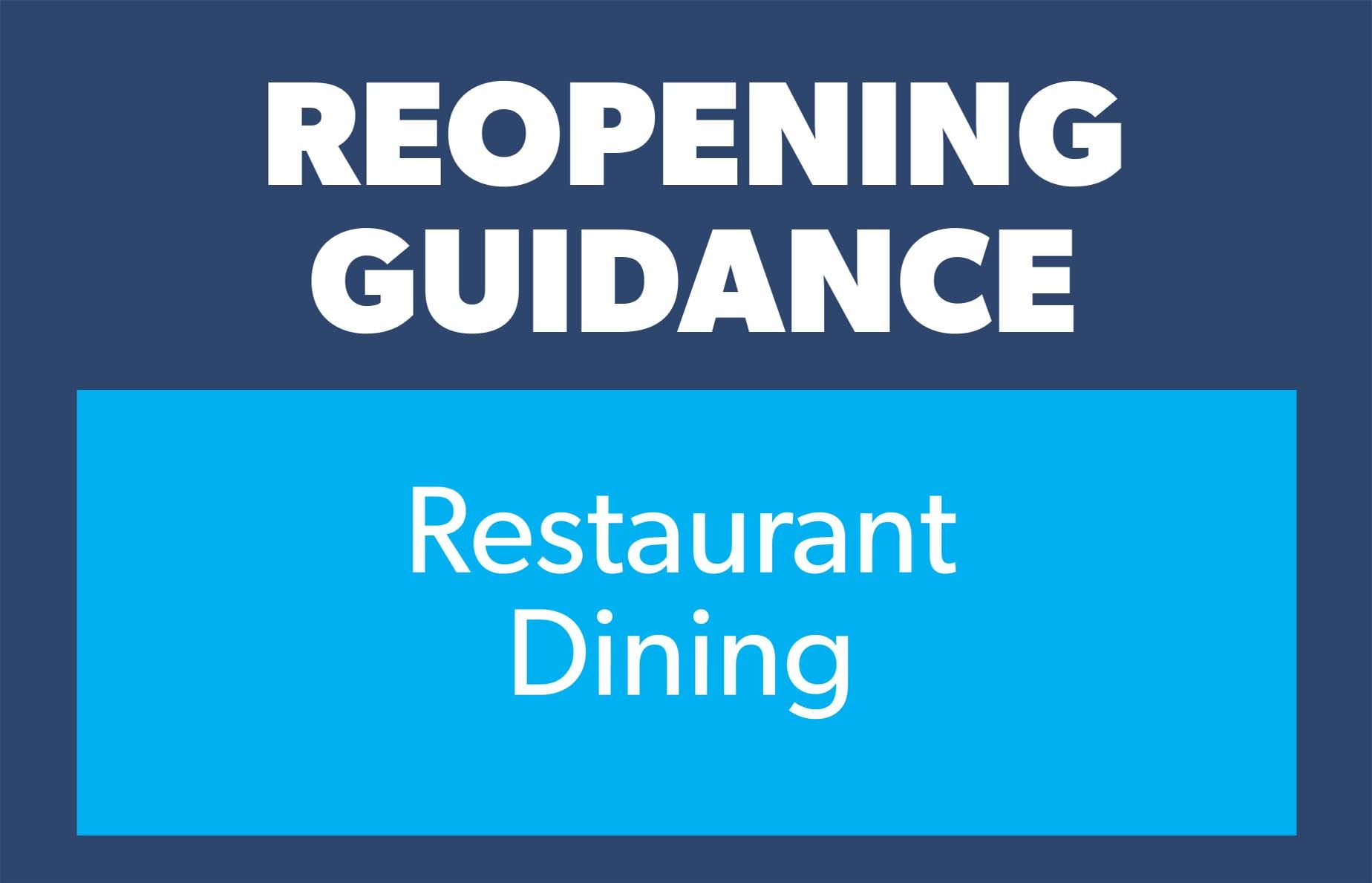 Guidance rest dining