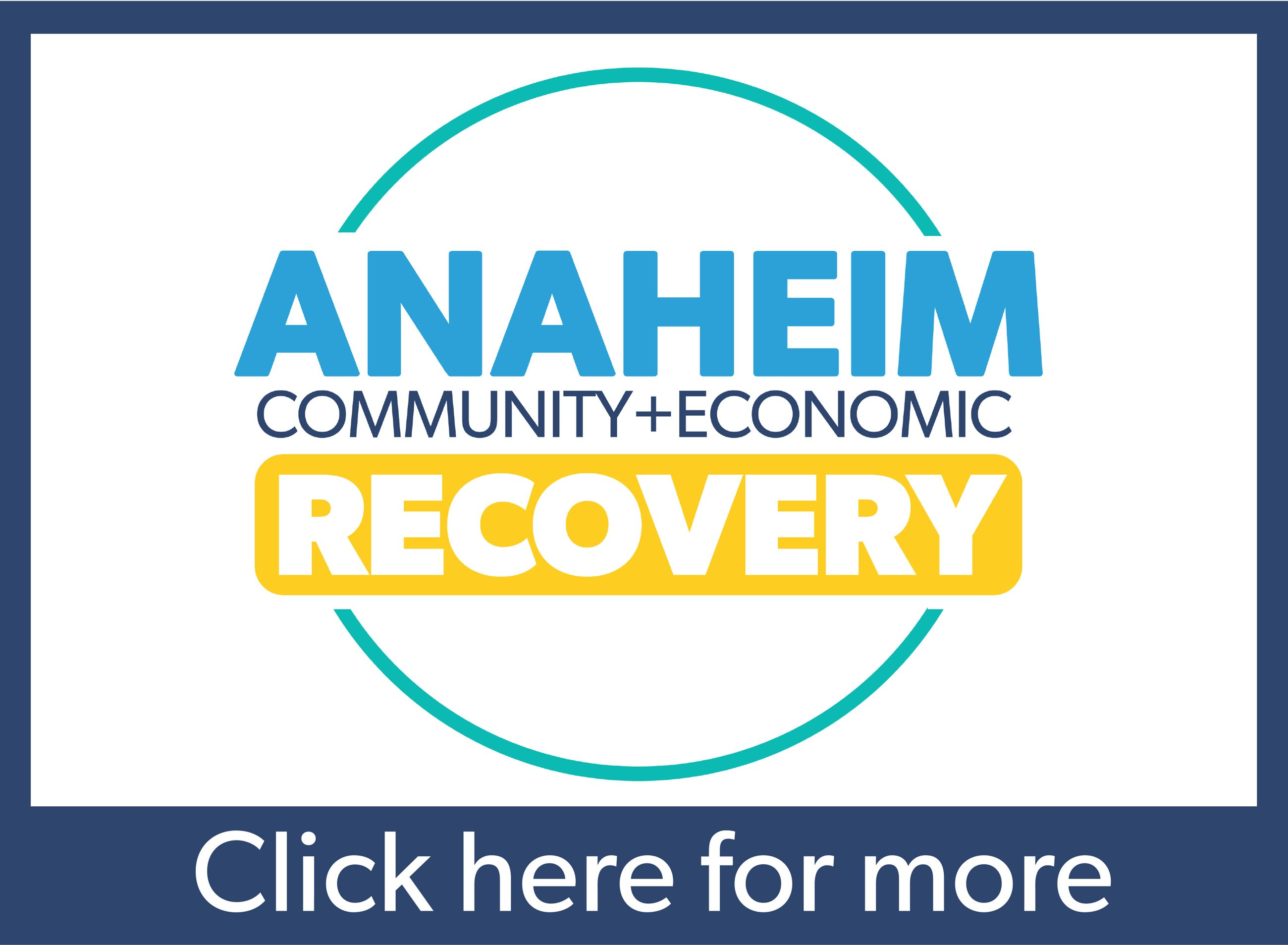 Anaheim Communtiy and Economic Recovery Plan