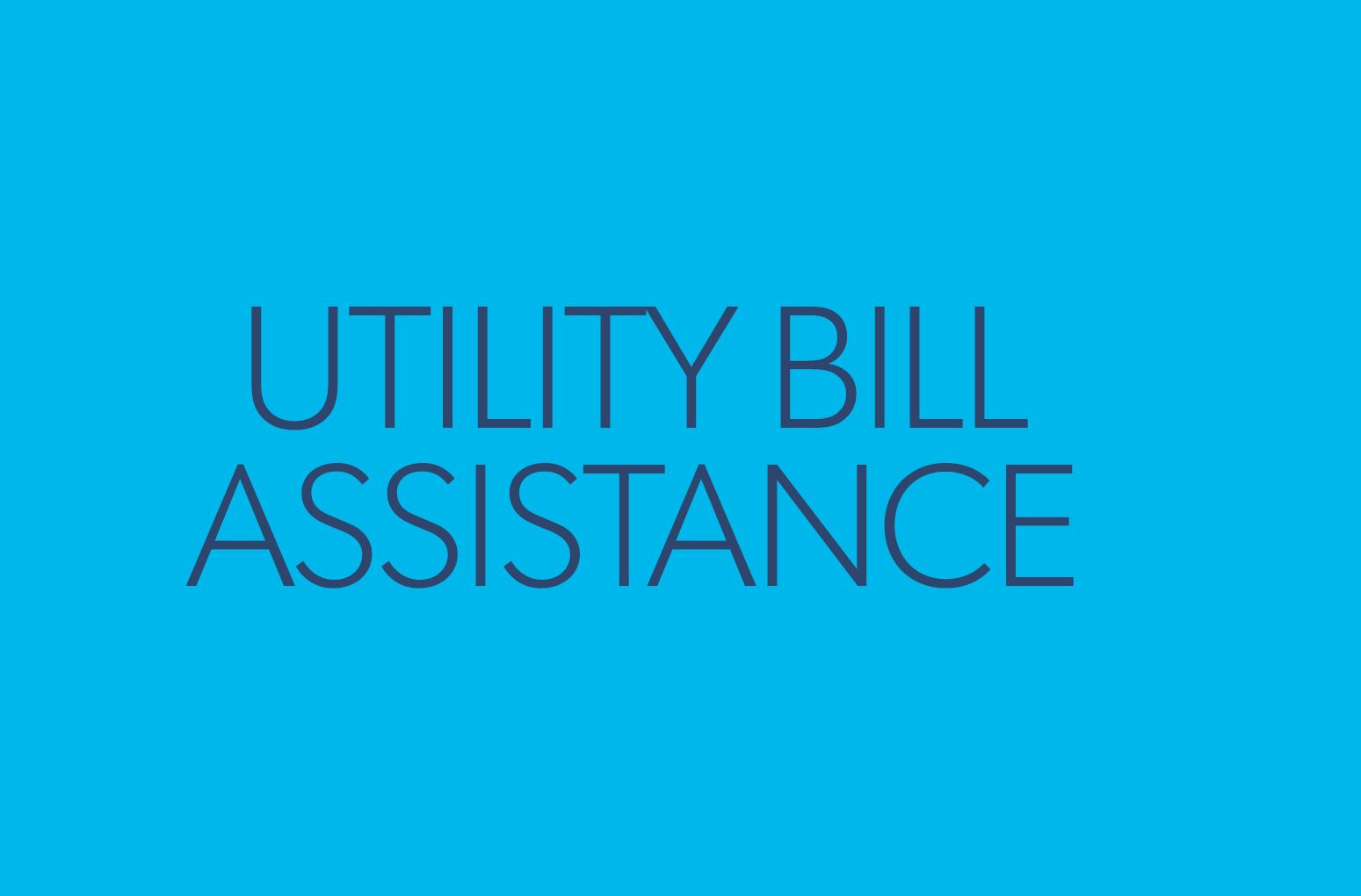 utility bill assistance