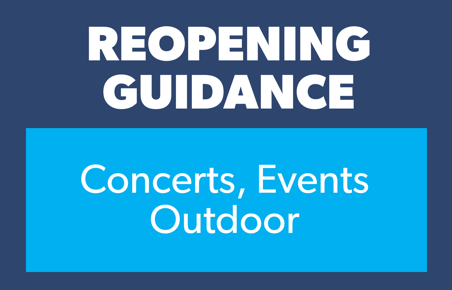 Concerts events outdoor 4.15.21