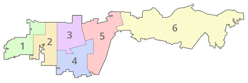 Image of City Council District Map