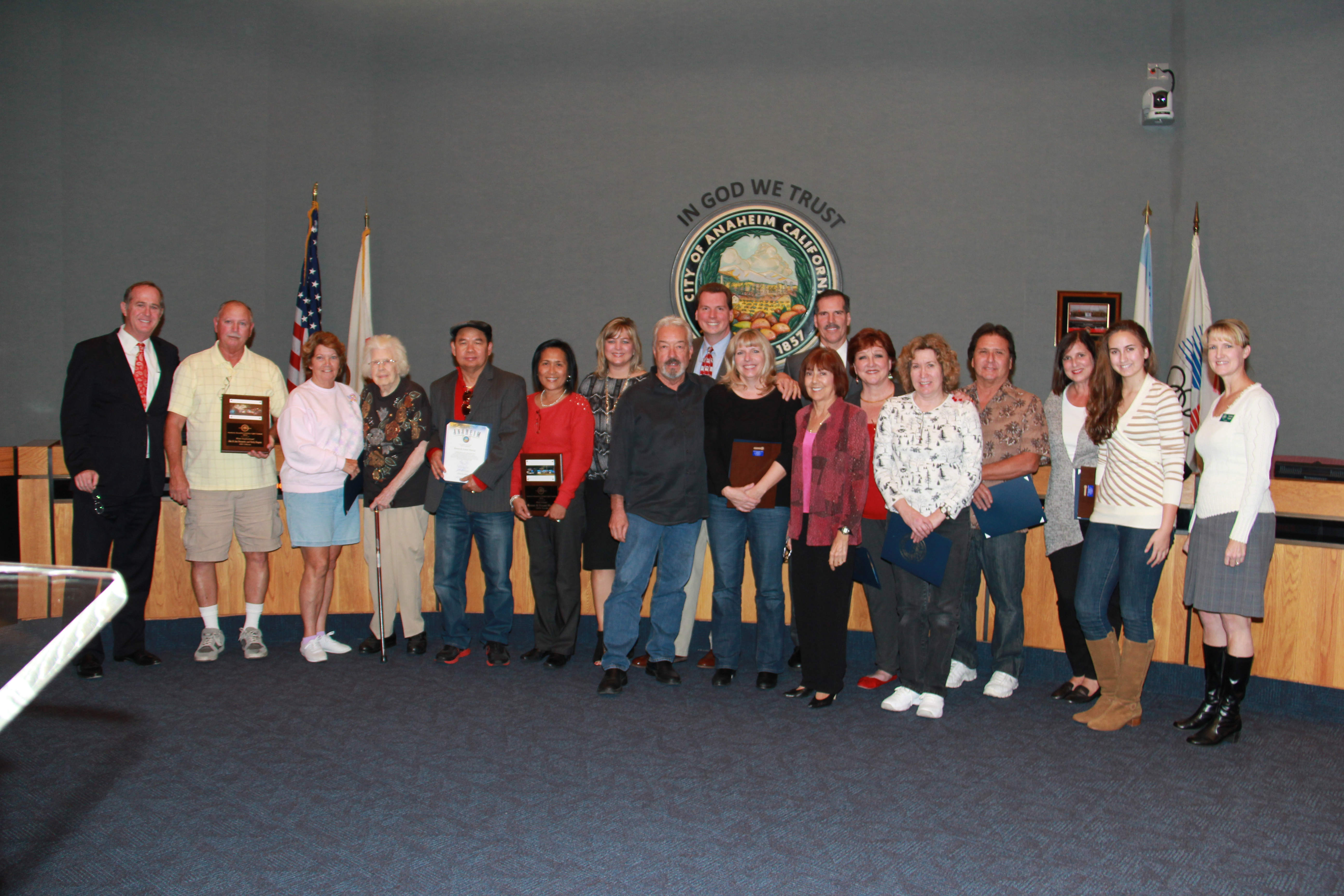 Group Photo at the December 23, 2014 City Council
