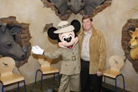 Mayor Pringle and Mickey