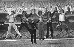 Osmond Brothers at Anaheim Stadium