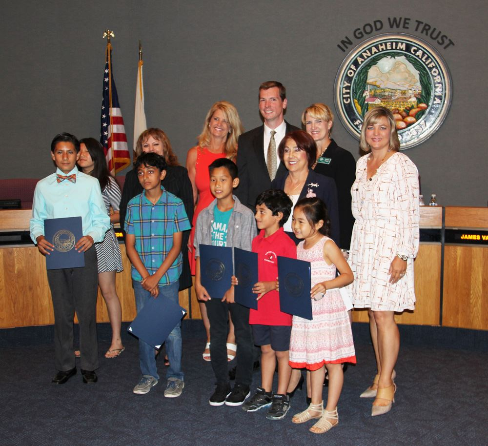 City Council Recognizing Anaheim Beautiful Program